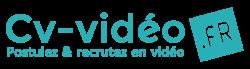 Création de logo et supports de communication pour notre client CV-VIDEO.FR