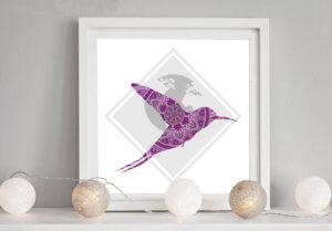 Création du logo de Rêverie de Colibri par My Little Com' agence de communication à Brest