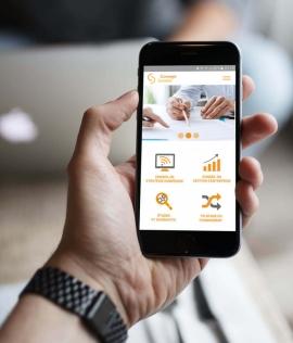 Webdesign, développement et création du site web mobile Comegis Digital Brest