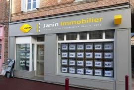 Conception de logo et d'identité graphique pour Janin Immobilier par My Little Com' agence de communication à Brest