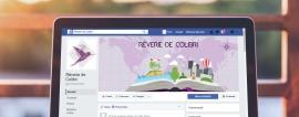 Conception de bannières web pour Rêverie de Colibri par My Little Com' agence de communication à Brest