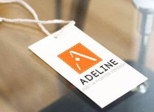My Little Com' Brest - Création d'un logo pour la boutique Adeline