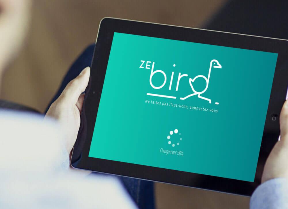 My Little Com' Brest - Création d'un logo pour ZeBird