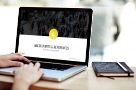 Création de templates Powerpoint et Word pour la société Happenability - My Little Com', agence de communication à Brest