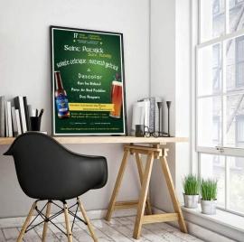 Conception d'une affiche pour Diwan - My Little Com', agence de communication à Brest